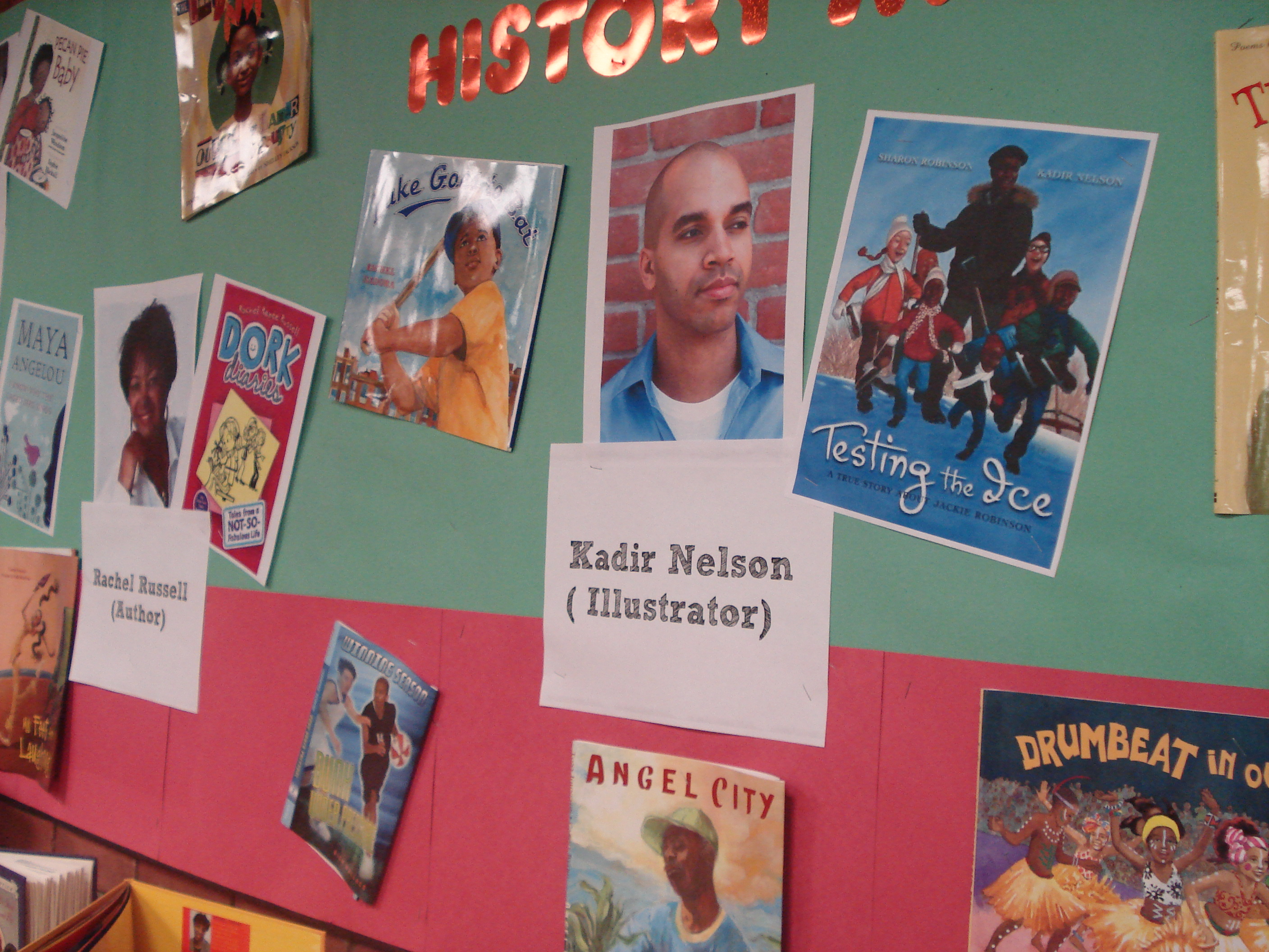 black history month display - alsc blog