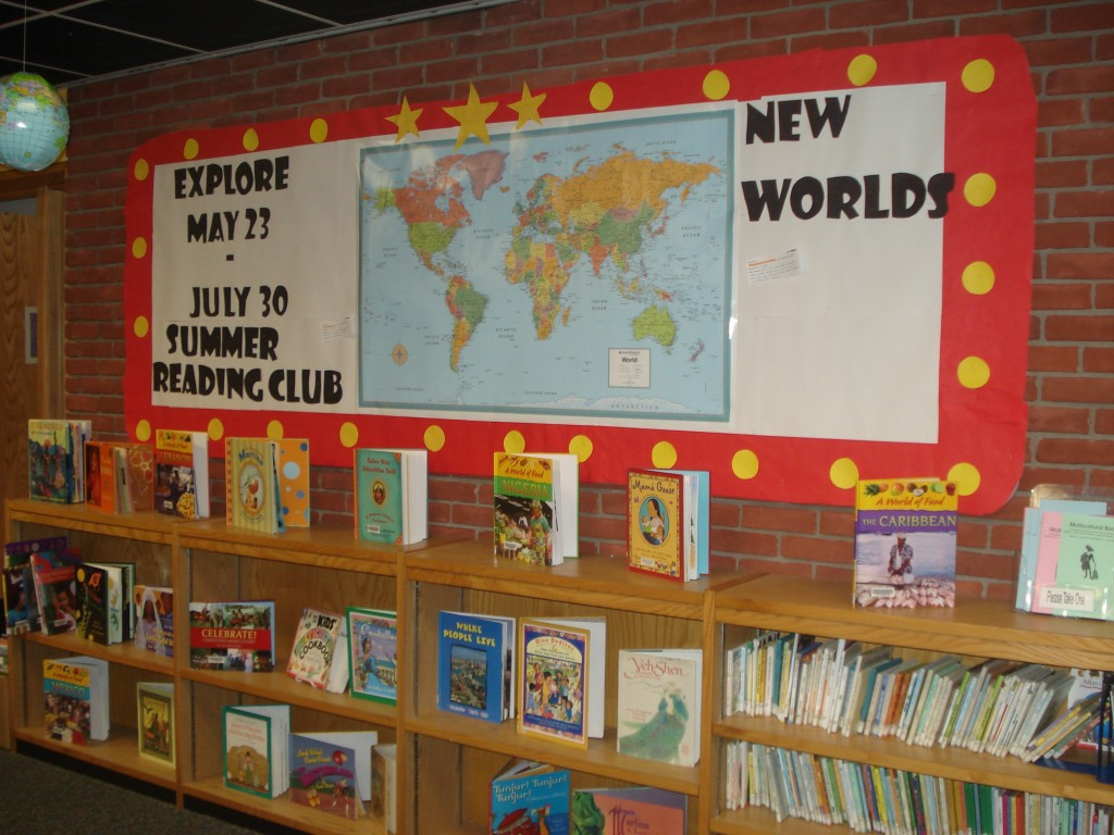 Classroom Review Ideas ~ Reading around the world alsc