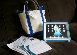 Darien Library's Early Literacy iPad Kit