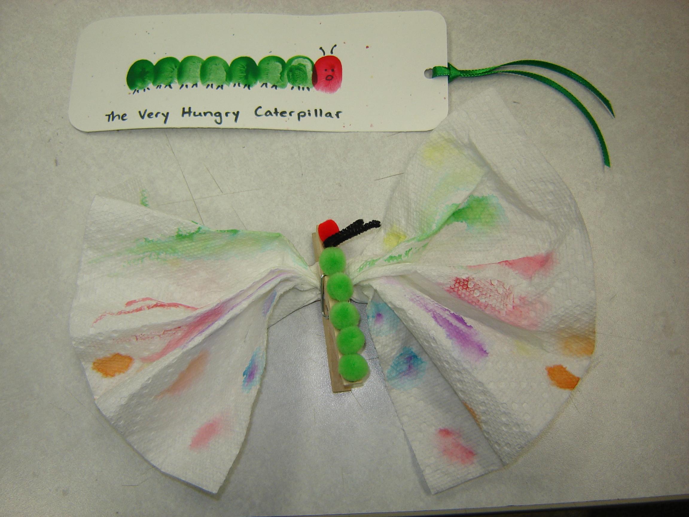 Preschool programs beyond storytime alsc blog for Caterpillar crafts for preschoolers