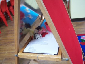 Flannelboard Shelf