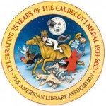Caldecott 75th Anniversary logo by Brian Selznick