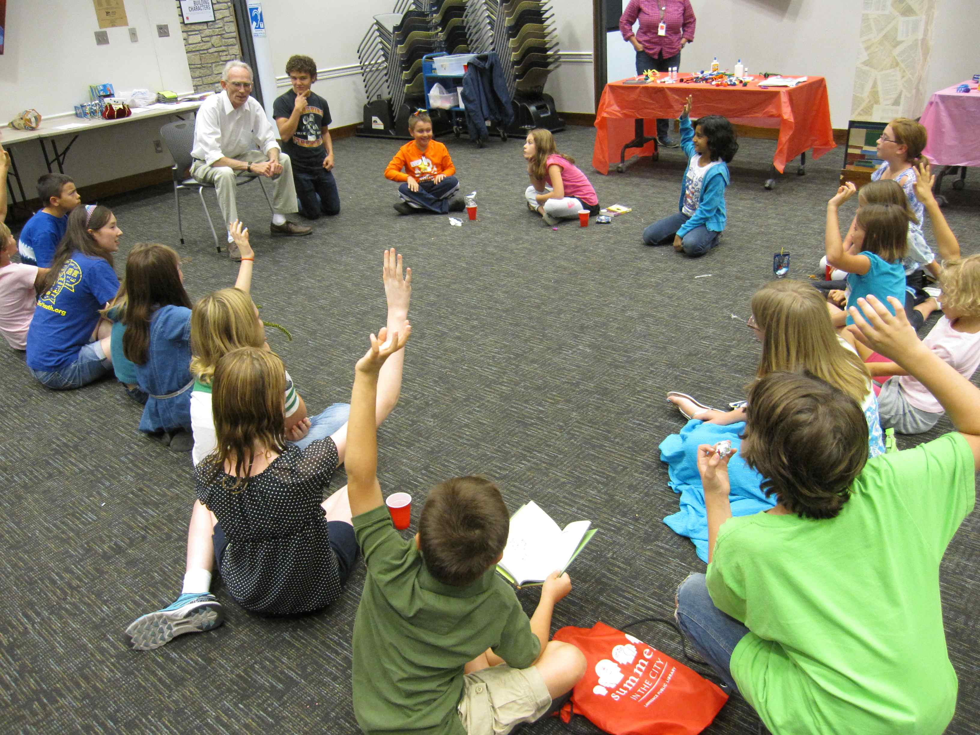 Sharing One Story: Read Across Lawrence for Kids - ALSC Blog
