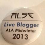MW 2013 Blogger