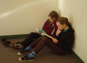 Pair of readers
