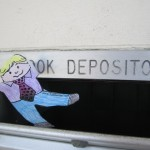 Flat Stanley at the book depository