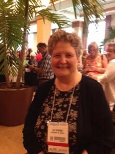 Kay Weisman at the 2013 Banquet