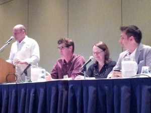 Graphic Novel panel