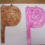 P is for Pig craft