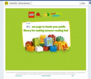 LEGO DUPLO Summer Reading Giveaway