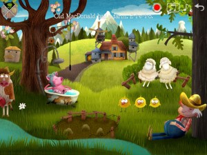 Little Fox Music Box app, a fun app for preschoolers.