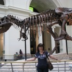 "Picture of ""Sue and Sue"" at the Field Museum in Chicago courtesy of blogger's daughter, Caitlin Ostroff"