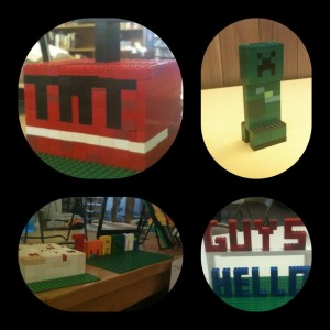 Various Minecraft creations