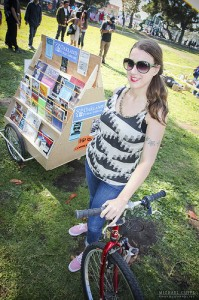 Expanding Our Worlds with the Oakland Public Library Bike Trailer