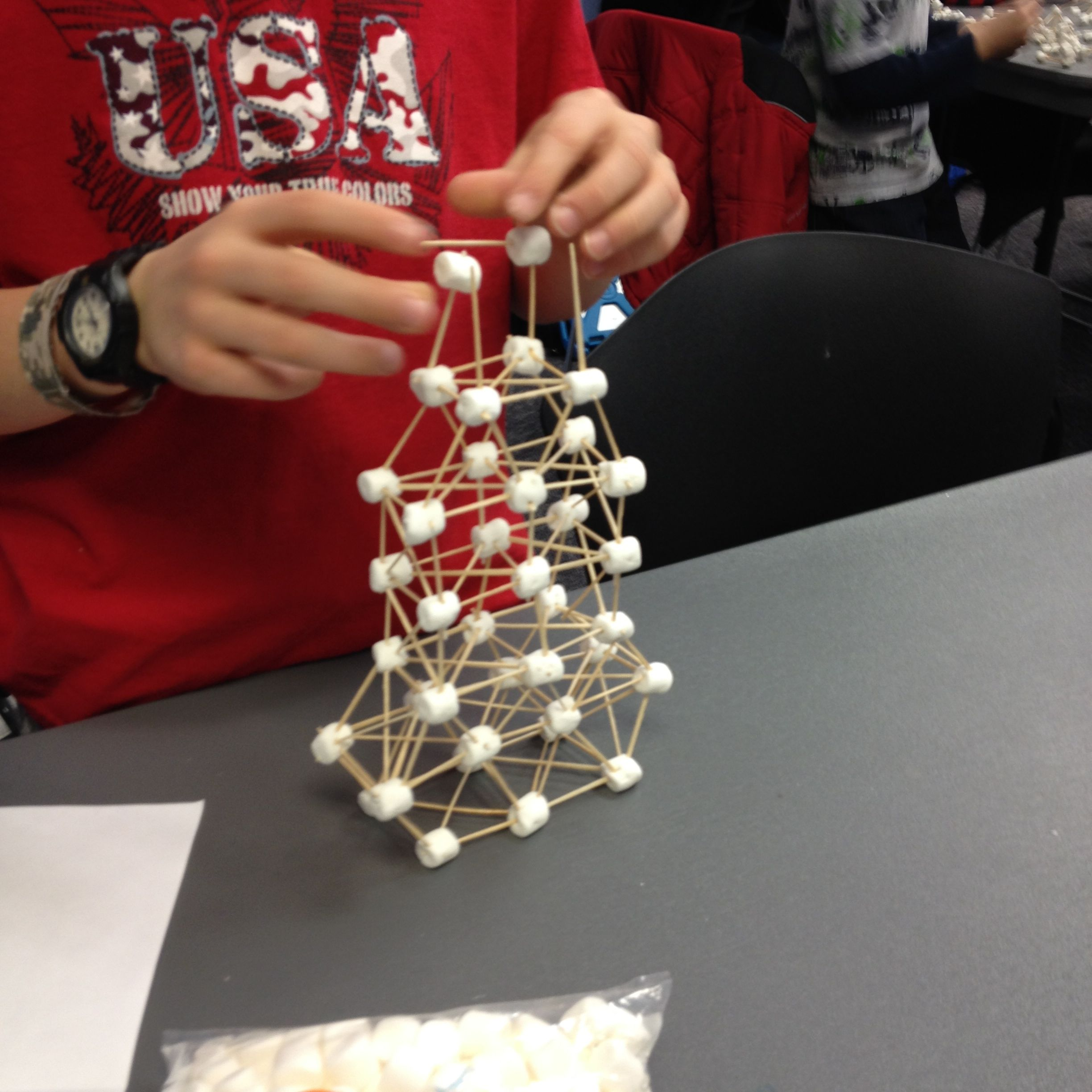Spaghetti And Marshmallow Tower Challenge Uncategorized