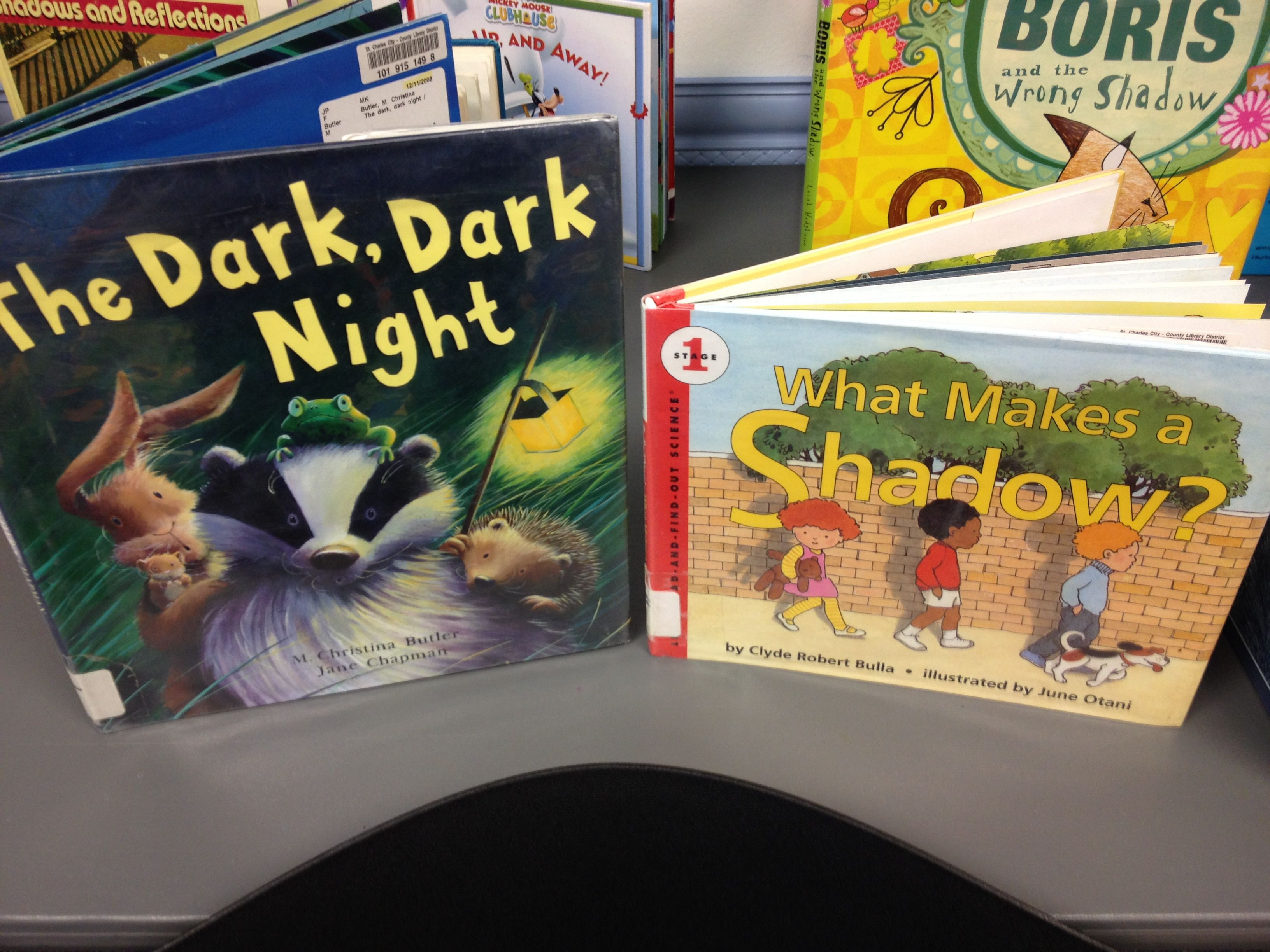 preschool shadow science alsc blog shadows books