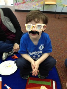 April Fool's Mustache Storytime!