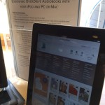 Testing out displays that market eBook services