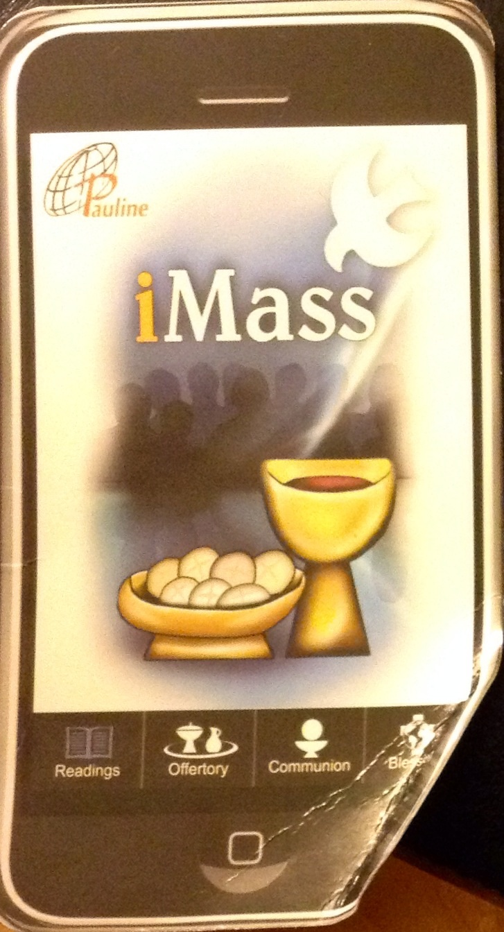A modern Mass card