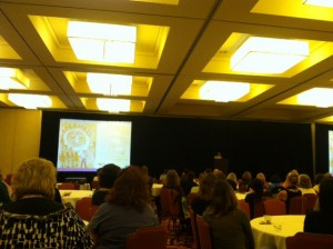Closing Keynote Speaker (Photo by Nicole Martin)