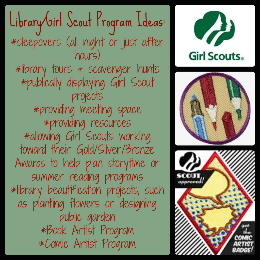Library and GS Program Ideas