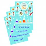 Download all three 2015 Building STEAM with Día book lists