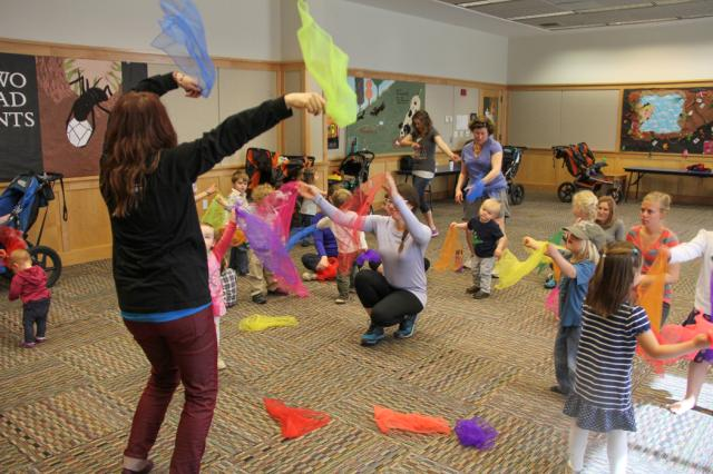 Photo of Music, Movement and Stories at the Deschutes Public Library