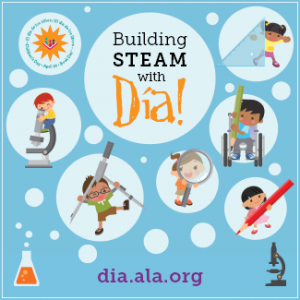 Learn more about  Día at dia.ala.org