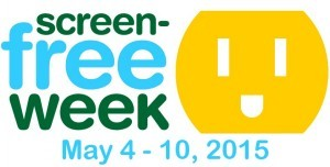 Screen-Free Week begins May 4!