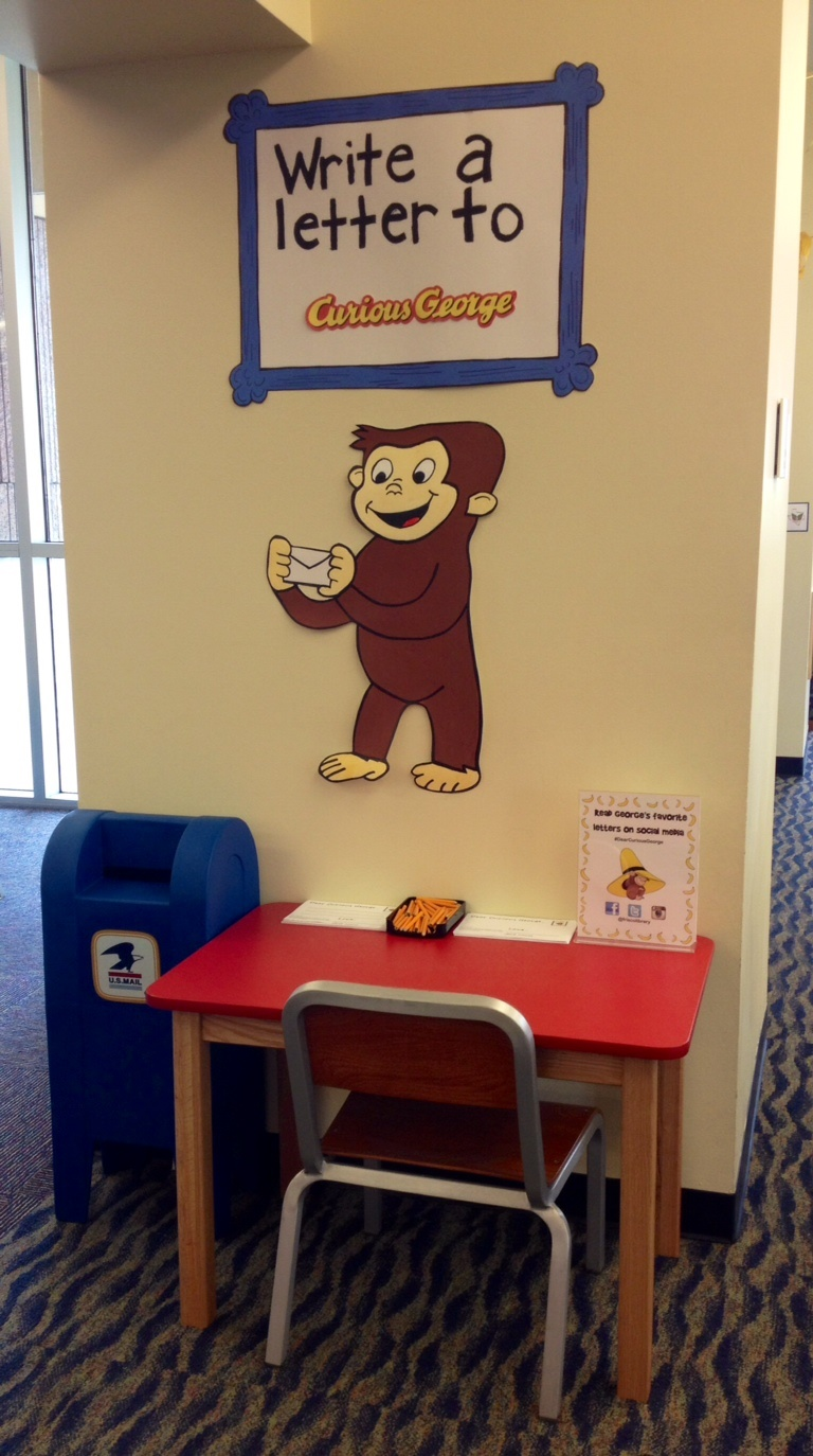 Write a letter to curious george alsc blog writing station aljukfo Image collections