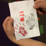 Rubbings of Animal Tracks
