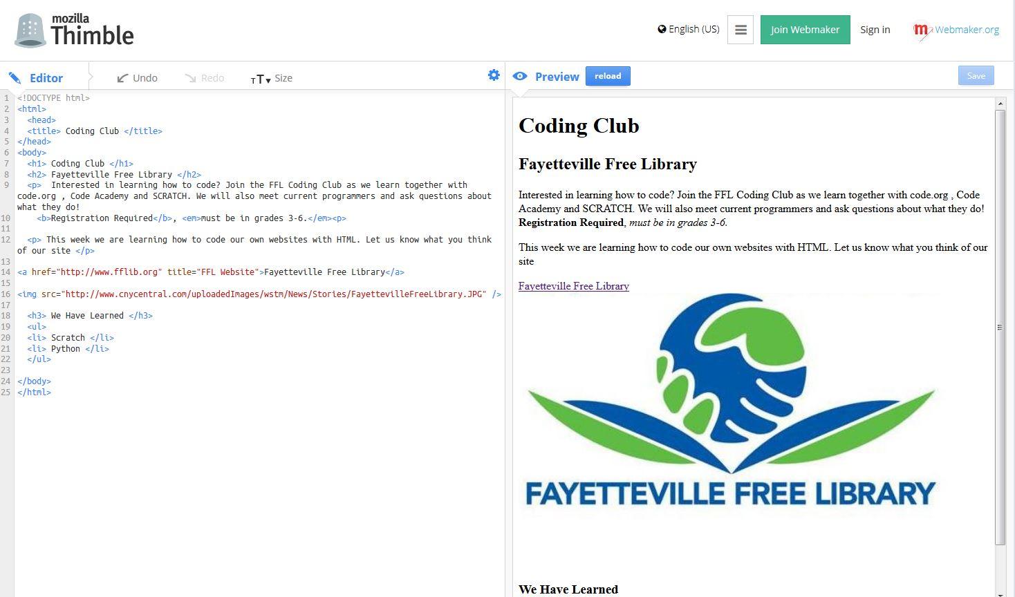 More Coding for Kids: HTML - ALSC Blog