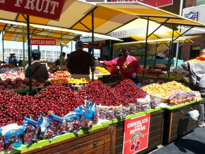 Fruit selection at Pier 39 ©L Taylor