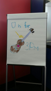 U is for Ukulele meetup