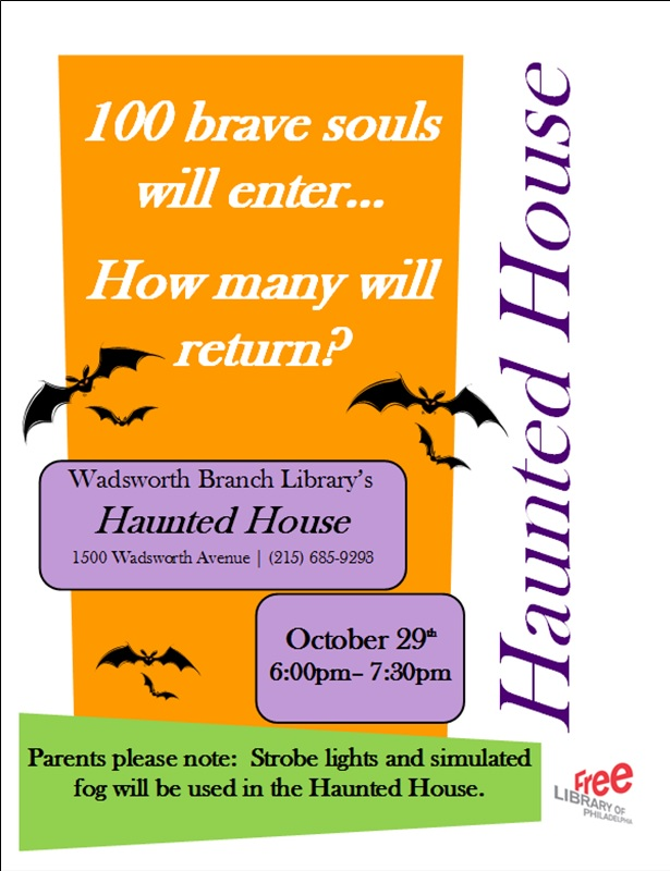 Haunted House Flier