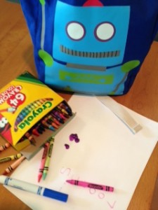School supplies ready! photo by Paige Bentley-Flannery