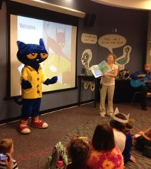 Pete the Cat storytime