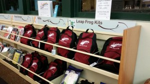 [Book Bundles and LeapFrog Kits, photo courtesy of the author.]