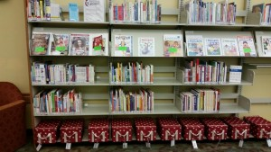 [The re-organized Parent/Teacher collection, photo courtesy of the author.]
