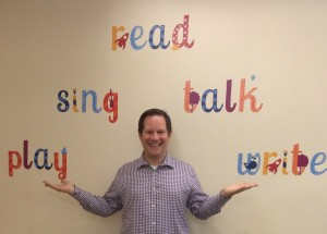 The writing's on the wall at the Central Children's Library in Denver!