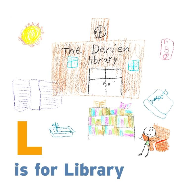 L is for Library-sm