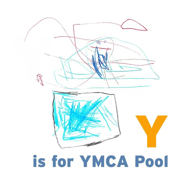 Y is for YMCA pool-sm