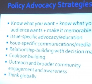 Tips for advocating for Information Policy