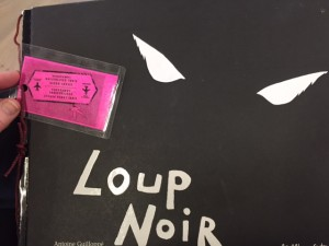 """Loup Noir"" cover, photo by A. Reynolds"