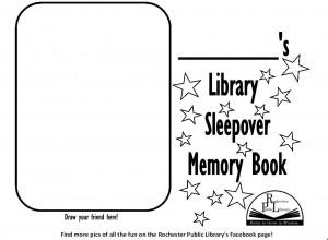 Sleepover Book Cover