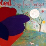 Story Time Poems: White, Blue, Red, Orange and Purple. photo by Paige Bentley-Flannery