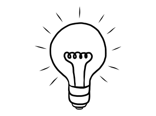 How do we get those lightbulb moments to turn into reality? (Image provided by Thinkstockphotos.com)