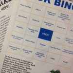 Book Bingo and Newsletter photo by Paige Bentley-Flannery