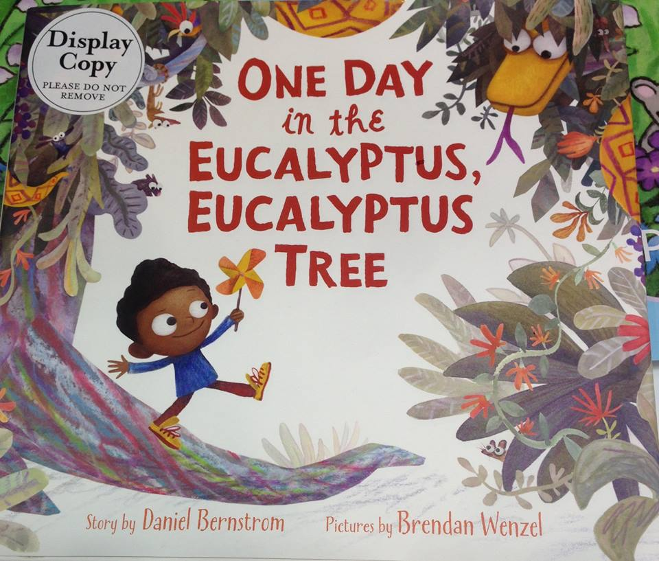 Diverse picture books: One Day in the Eucalpytus Eucalyptus Tree by Bernstrom