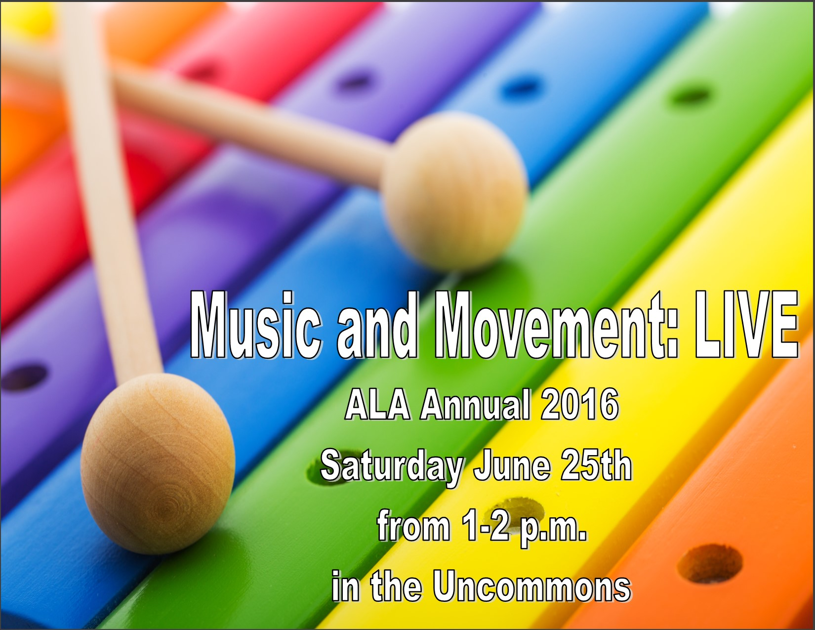 Music & Movement: LIVE at ALA Annual 2016 [Picture courtesy of the author.]